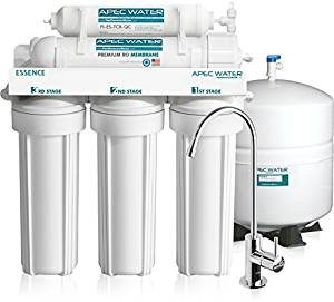 APEC 5-Stage Ultra Safe Reverse Osmosis Drinking Water Filter System