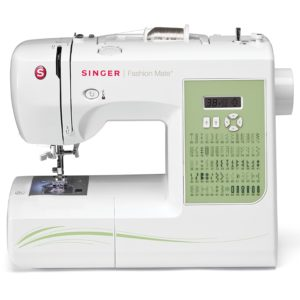 SINGER 7256 Fashion Mate 70-Stitch Computerized Free-Arm Sewing Machine