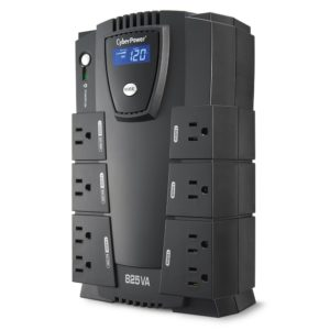 CyberPower CP825LCD Intelligent LCD UPS 825VA 450W Compact Review