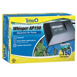 Tetra Whisper Air Pump for Deep Water Applications (AP150)