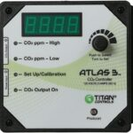Titan Controls HGC702608 Atlas 3 Day/Night Carbon Dioxide (CO2)
