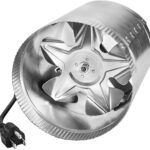 iPower GFLANXBOOSTER4 Inline Duct Fan