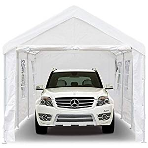 Peaktop 20'x10' Heavy Duty Best Portable Garages Car Shelter
