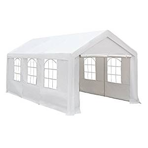 Abba Patio 10 x 20-Feet Heavy Duty Carport, Car Canopy Shelter