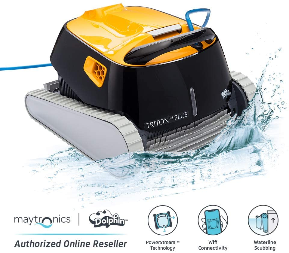 DOLPHIN Triton PS Plus Robotic Pool Cleaner