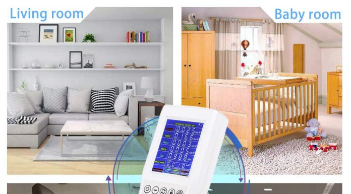 Review Of Top 8 Best Portable Indoor Air Quality Monitor 2020