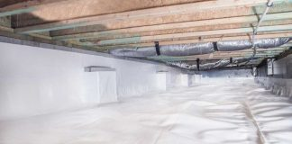 How To DIY Crawl Space Encapsulation Happy   Building Protection