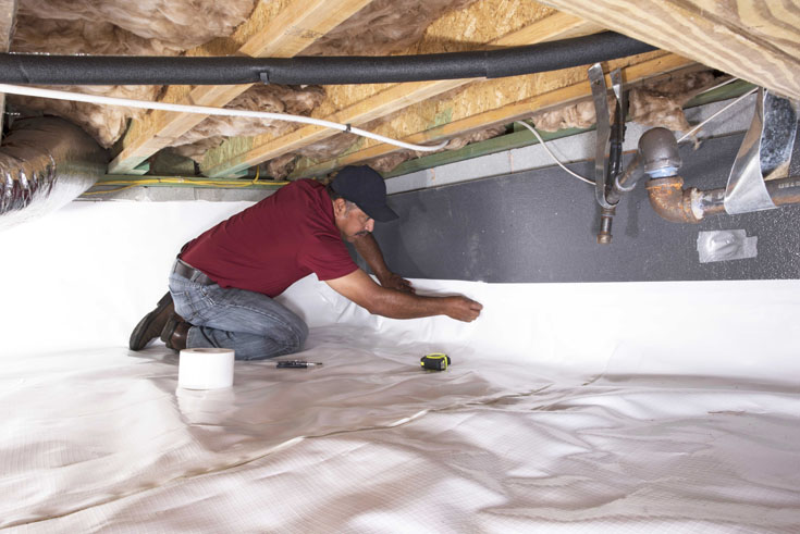 Crawl Space insulation|How To Insulate Properly & Happy