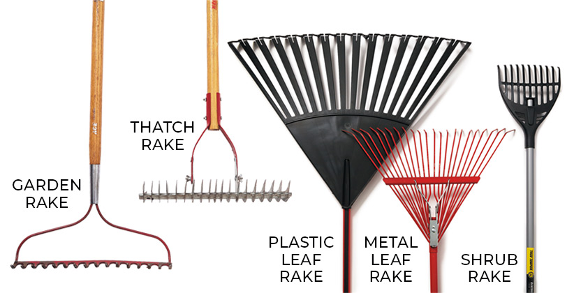 Different Types of Rakes