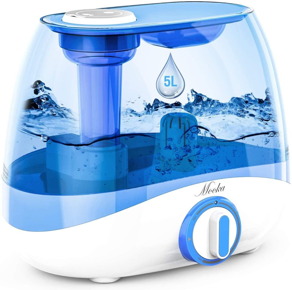 Mooka Humidifier for Bedrooms and Large rooms