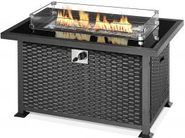 5 Top Rated Best Propane Fire Pit Tables Reviews & How To